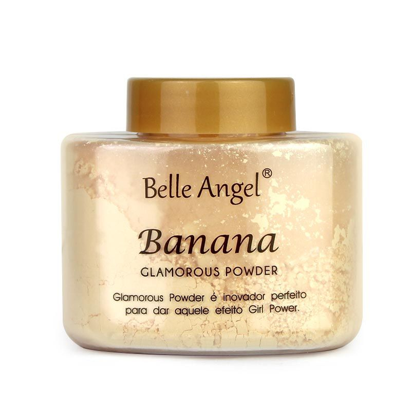 Pó Solto Glamorous Powder Banana Belle Angel T013
