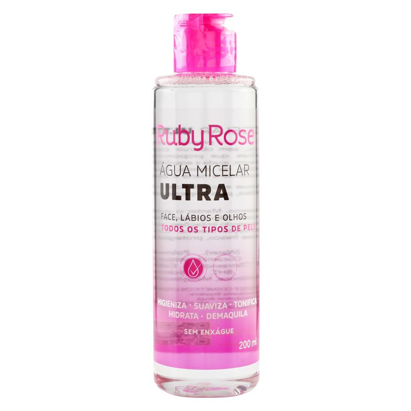 Ruby Rose Água Micelar Ultra 200ml HB-304
