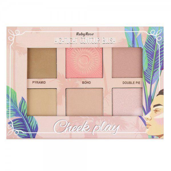 Ruby Rose Iluminador Cheek Play HB-7502