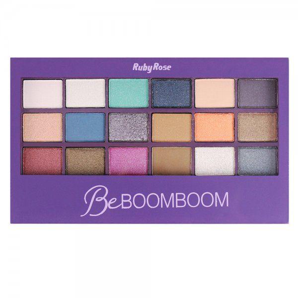 Paleta de Sombras Be Boomboom Ruby Rose HB-9924
