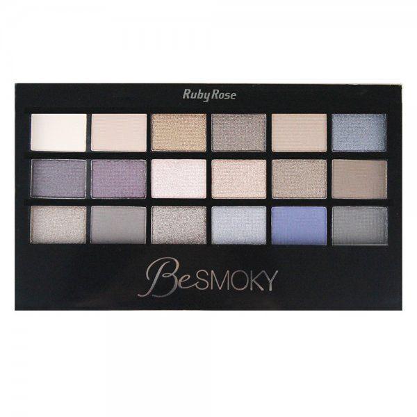 Paleta de Sombras Be Smoky Ruby Rose HB-9926