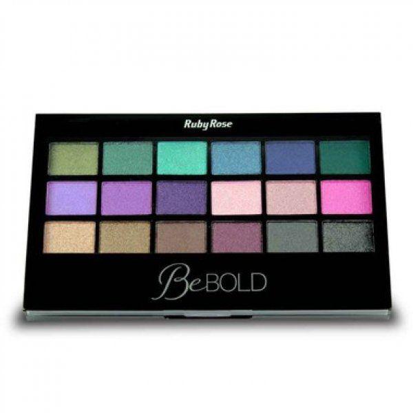 Paleta de Sombras Be Bold Ruby Rose HB-9919