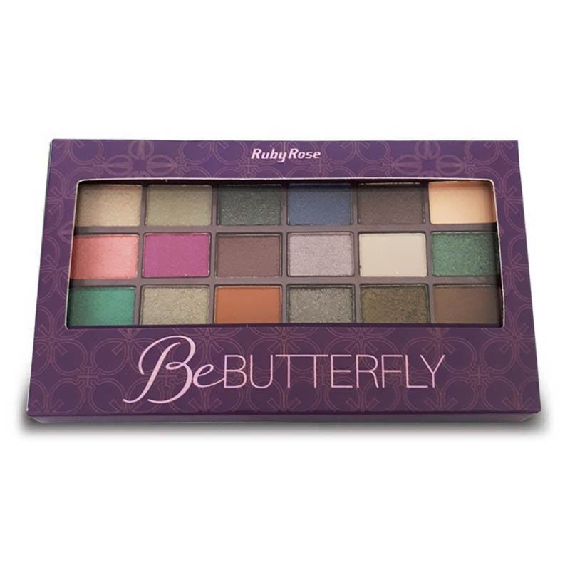 Paleta de Sombras Be Butterfly Ruby Rose HB-9922