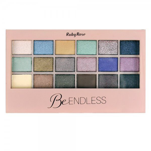 Paleta de Sombras Be Endless Ruby Rose HB-9927