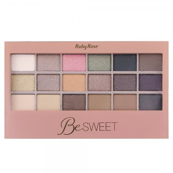 Paleta de Sombras Be Sweet Ruby Rose HB-9923