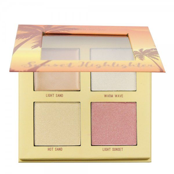 Ruby Rose Paleta Iluminador Sunset Highlighter Light HB-7504