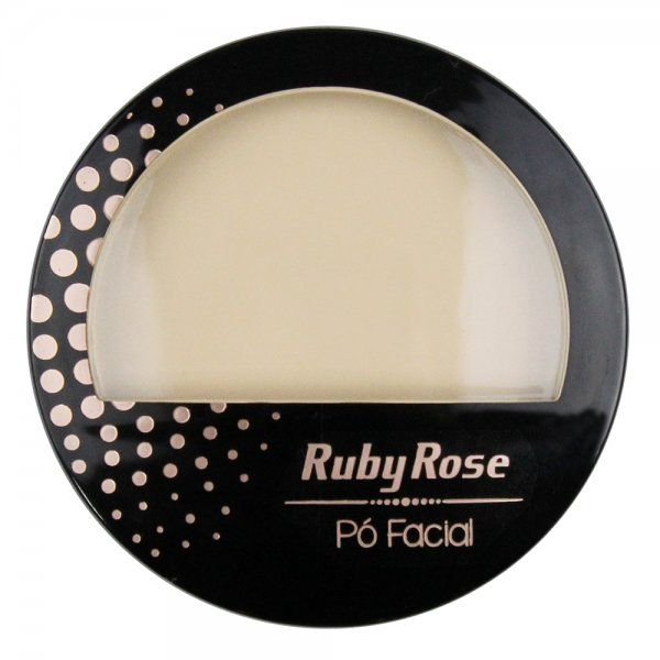 Ruby Rose Pó Facial HB-7212 - Cor 02 Bege