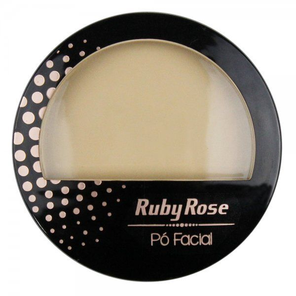 Ruby Rose Pó Facial HB-7212 - Cor 03 Bege Médio