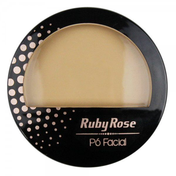 Ruby Rose Pó Facial HB-7212 - Cor 04 Bege Natural