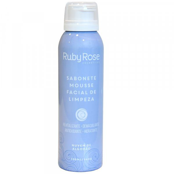 Sabonete Mousse Facial de Limpeza 1 Ruby Rose HB-320