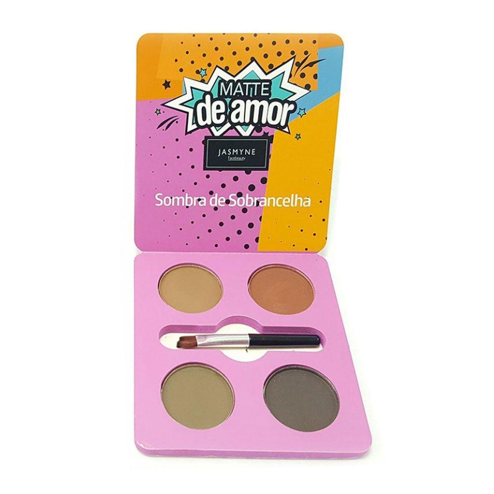 Sombra de Sobrancelha Matte de Amor Jasmyne Facebeauty V6028 Cor B