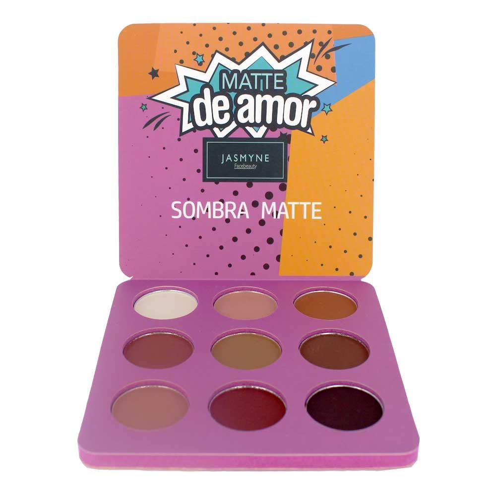 Sombra Matte Jasmyne Facebeauty 9 Cores V6029 Cor B