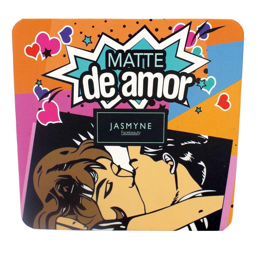 Sombra Matte Jasmyne Facebeauty 9 Cores V6029 Cor C