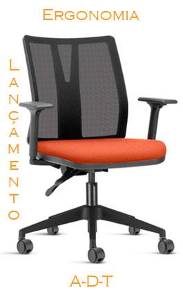 Lançamento cadeira ergonomica ADT