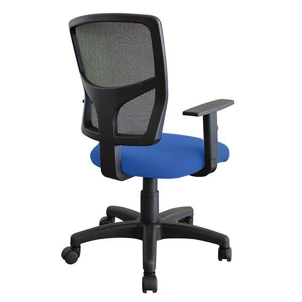 Cadeira Escritório Giratória Ergonômica Encosto Em Tela Nr17