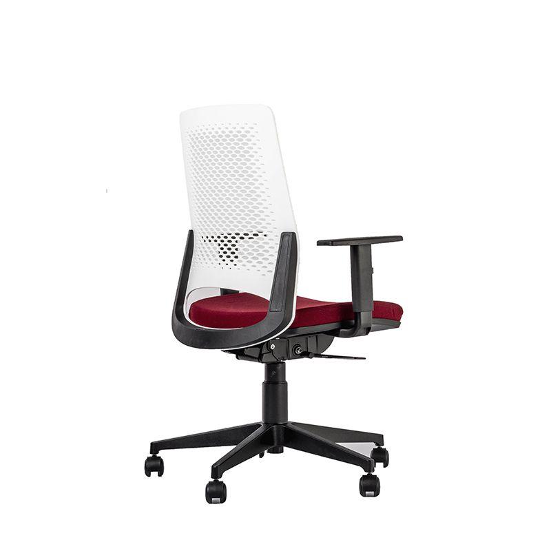Cadeira Escritório Giratória Ergonômica Wine Vermelha