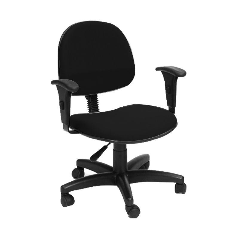 Cadeira giratória ergonômica Executiva  Back System com braço regulável Topázio
