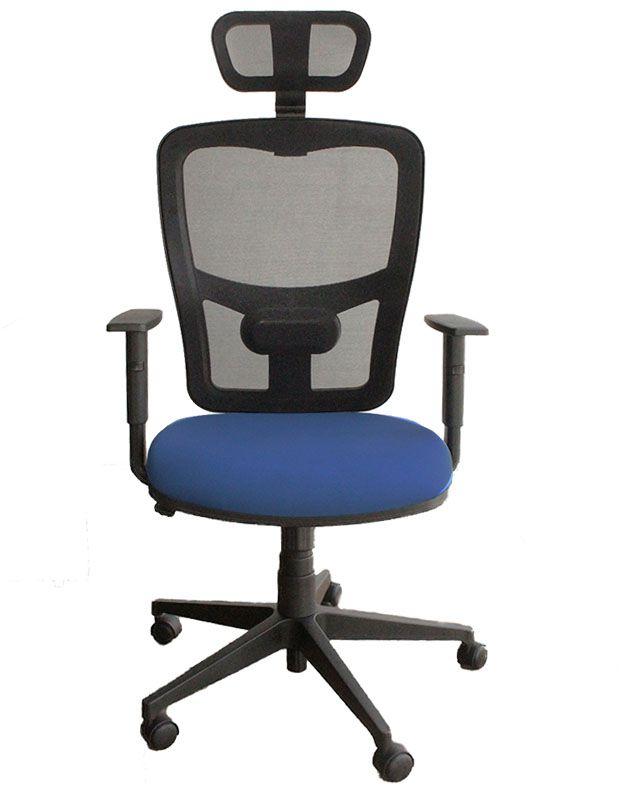 Cadeira de Escritório Giratória Presidente Strike Asia Com Braços Reguláveis