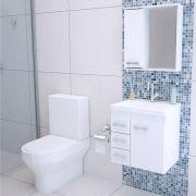 Armário Gabinete Banheiro completo  50CM
