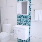 Armário Gabinete Banheiro Completo 60CM