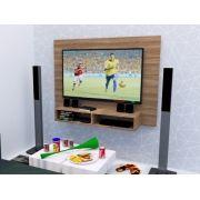 Painel para TV até 48 Polegadas 2 Nichos 120x90CM