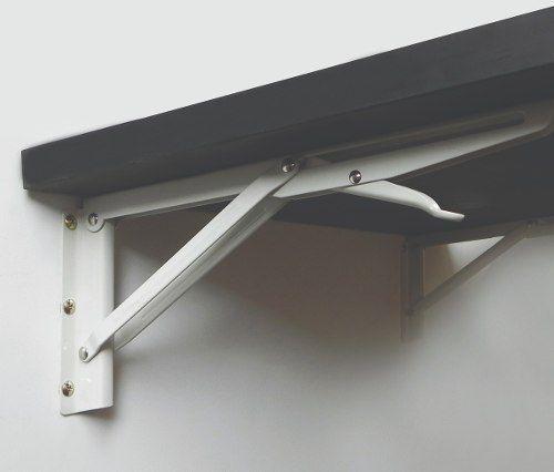 Mesa Dobrável de Parede 60x45cm Branco  - Loja de Móveis e Artigos para Decoração | TudoParaDecorar.com.br