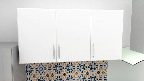 Armário Suspenso Para Cozinha Primolar 1,50m  - Loja de Móveis e Artigos para Decoração | TudoParaDecorar.com.br