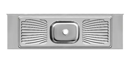Pia De Cozinha Aço Inox 2m Monobloco Reforçada  - Loja de Móveis e Artigos para Decoração | TudoParaDecorar.com.br