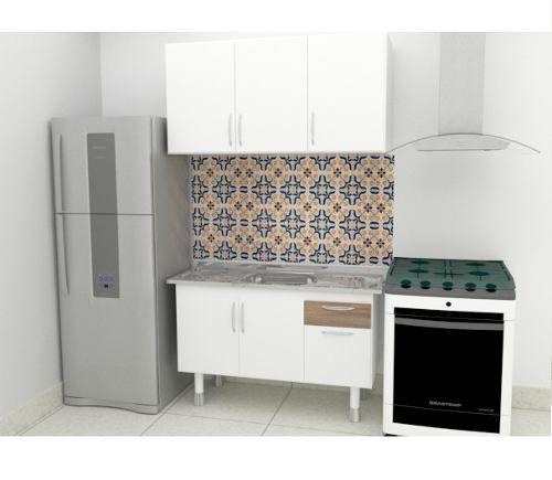 Pia De Cozinha Aço Inox 1,50m Monobloco Reforçada  - Loja de Móveis e Artigos para Decoração | TudoParaDecorar.com.br