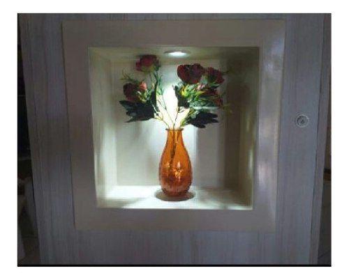 Nicho Para Banheiro Branco 30x30cm Sintético  - Loja de Móveis e Artigos para Decoração | TudoParaDecorar.com.br