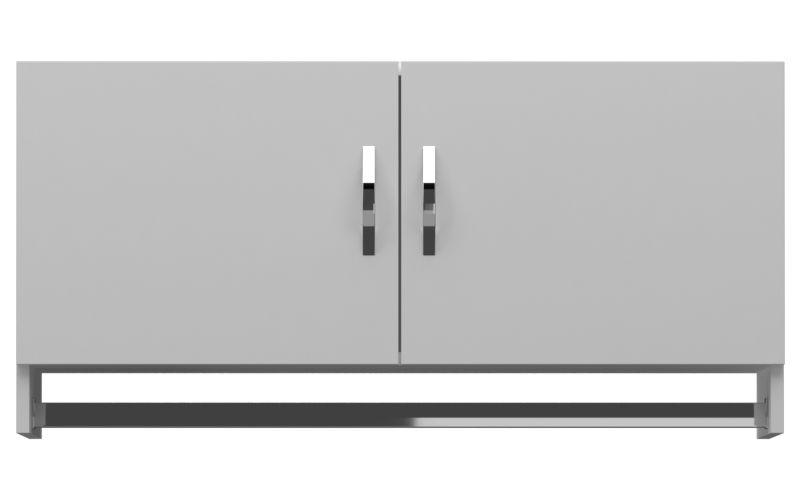 Armário Aéreo Multiuso 2 Portas  - Loja de Móveis e Artigos para Decoração | TudoParaDecorar.com.br