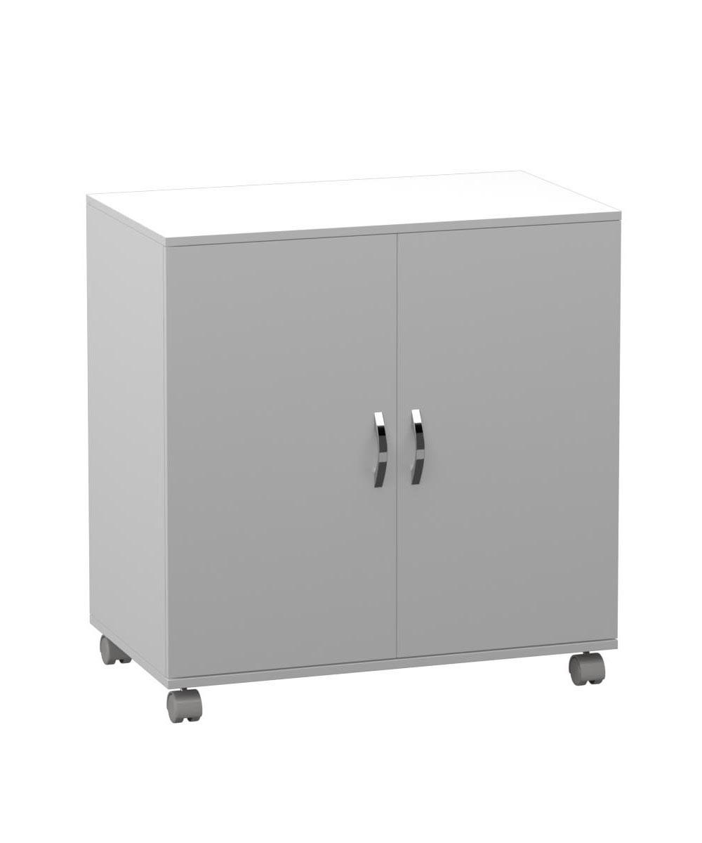 Armário Baixo Multiuso 2 Portas com Rodízio  - Loja de Móveis e Artigos para Decoração | TudoParaDecorar.com.br