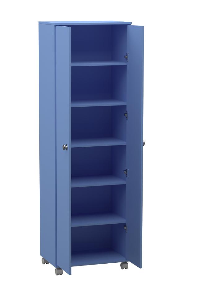 Armário Infantil Alto com 2 Portas  - Loja de Móveis e Artigos para Decoração | TudoParaDecorar.com.br
