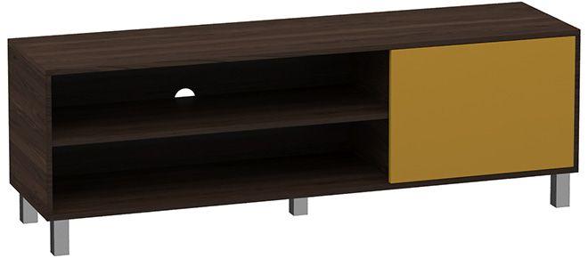 Rack Modern Com 1 Porta 50x150x40CM  - Loja de Móveis e Artigos para Decoração | TudoParaDecorar.com.br
