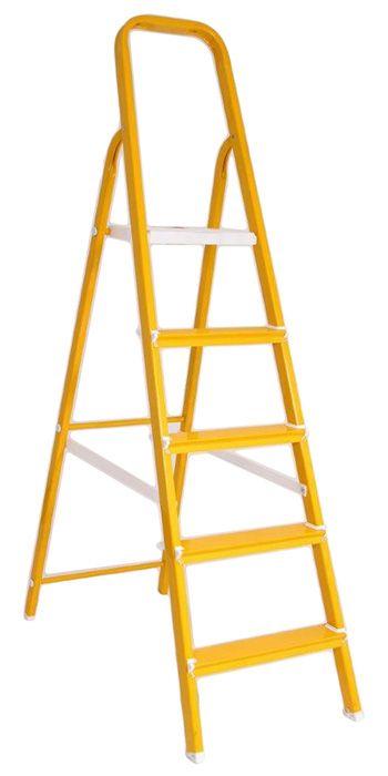 Escada 4 Degraus em Alumínio Colors  - Loja de Móveis e Artigos para Decoração | TudoParaDecorar.com.br