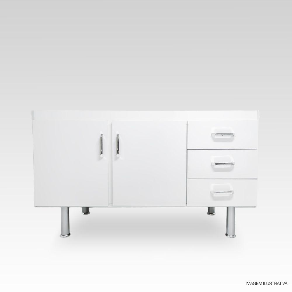Gabinete Balcão para Pia de Cozinha 1,20m Primolar  - Loja de Móveis e Artigos para Decoração | TudoParaDecorar.com.br