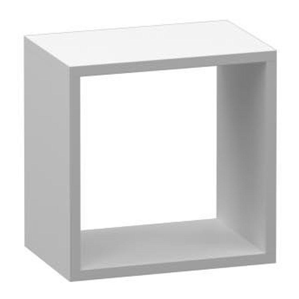 Nicho Quadrado Decorativo em MDF 30x30x20CM  - Loja de Móveis e Artigos para Decoração | TudoParaDecorar.com.br