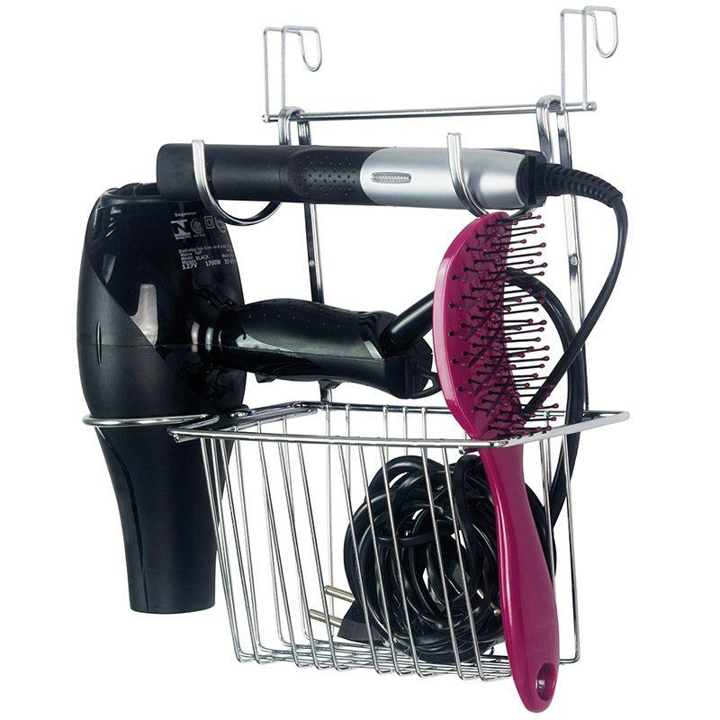 Organizador Para Escovas, Secador e Chapinha  - Loja de Móveis e Artigos para Decoração | TudoParaDecorar.com.br