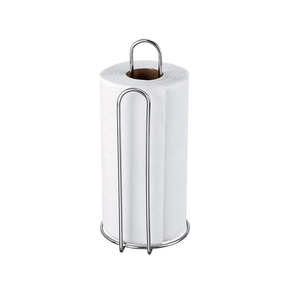 Porta Rolo Vertical Cromado  - Loja de Móveis e Artigos para Decoração | TudoParaDecorar.com.br