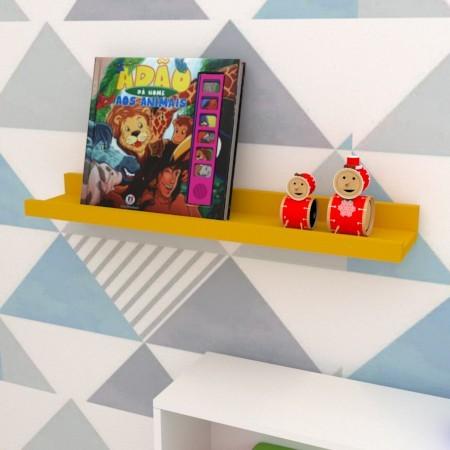 Prateleira Porta-Quadro Decorativa em MDF  - Loja de Móveis e Artigos para Decoração | TudoParaDecorar.com.br