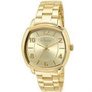 c058cd6b26a Relógio Condor Feminino Aço Dourado Visor Dourado CO2035KOQ 4D