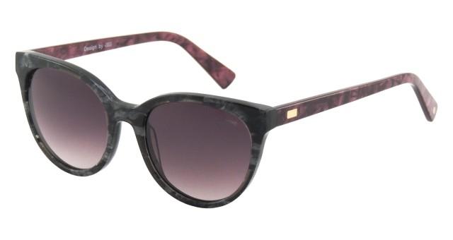 Óculos de Sol Feminino LOUGGE Polarizado Acetato Estampado LG 357.1 ... 596828af62