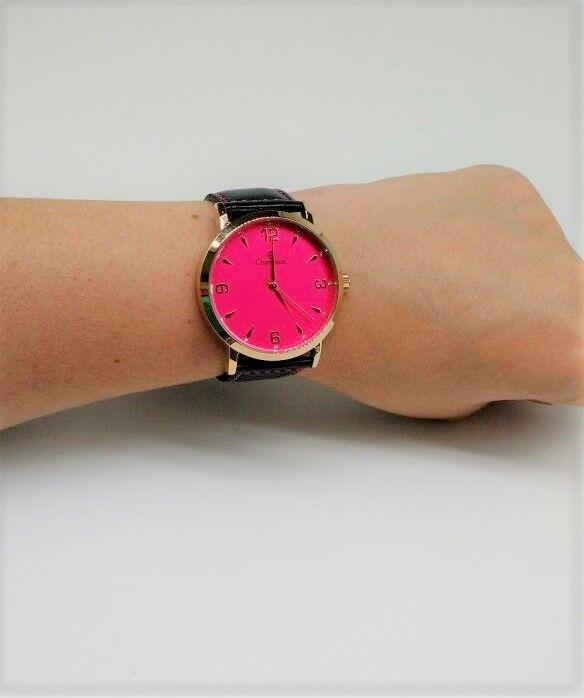 2553b38c910 ... KIT Relógio Champion Feminino Dourado Visor ROSA CN20328J- BRINDE ...