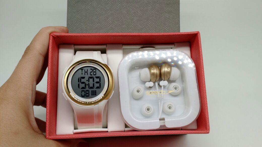 d532542dbb5 ... KIT Relógio Speedo Branco com Dourado Feminino 80587L0EVNP1 BRINDE ...