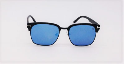 33dc7a71f93cd Óculos de Sol VEZATTO Espelhado Azul 541074 - VEZATTO