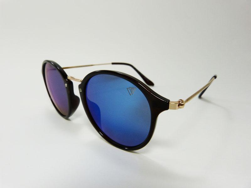 ee423b669fbfc Óculos de Sol Feminino VEZATTO Espelhado Azul H01455 C7 - VEZATTO