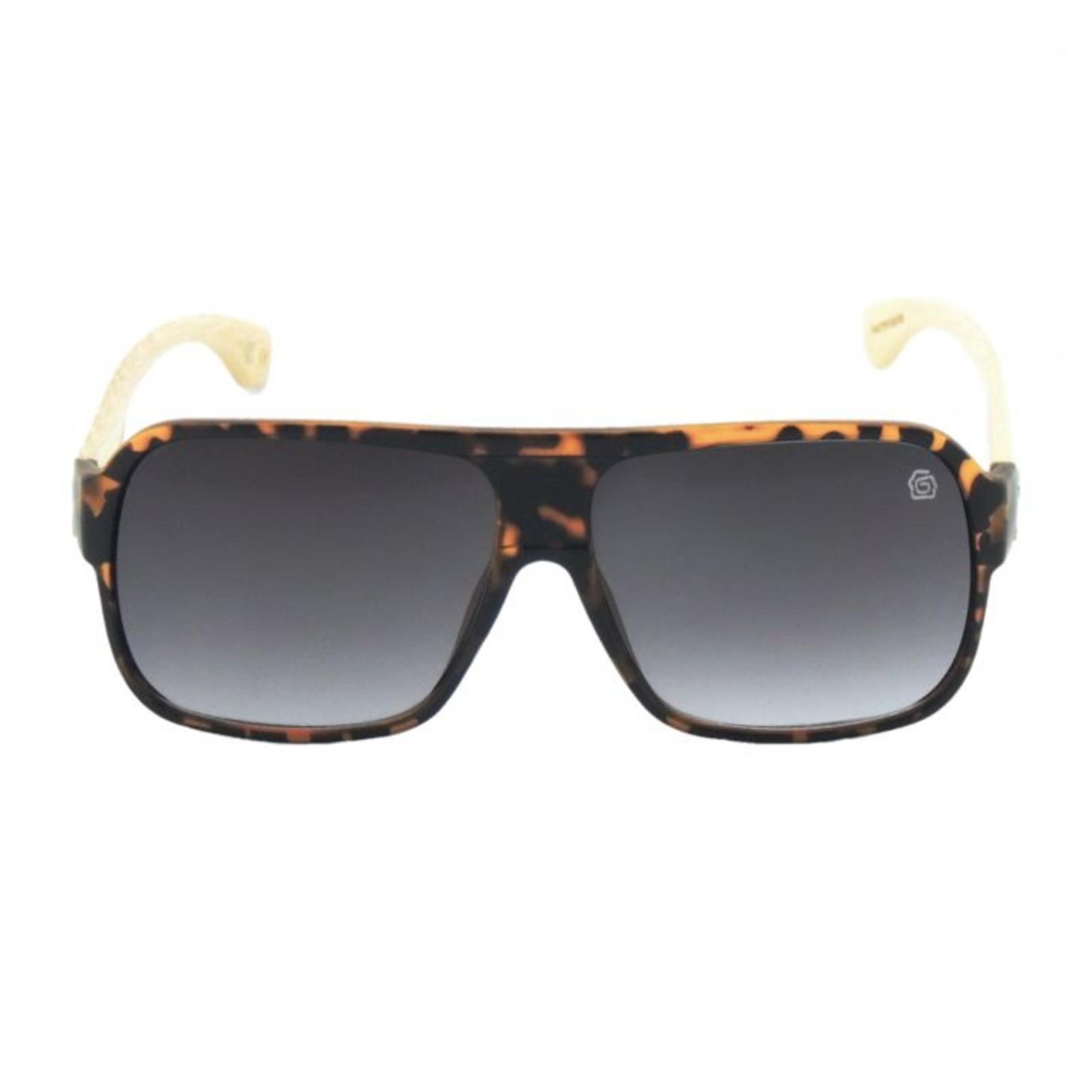 ec0b17e89e5fe ... Óculos de Sol Masculino GUGA KUERTEN Bambu Marrom Master GK95.2 ...