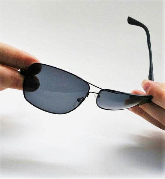 ... Óculos de Sol Masculino GUGA KUERTEN Flexivel Metal Preto Polarizado  GK132.2 32abb76e88