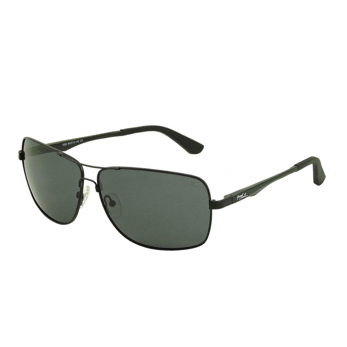 Óculos de Sol Masculino GUGA KUERTEN Flexivel Metal Preto Polarizado  GK132.2. Passe o mouse e veja detalhes ce52db42d0