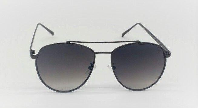 917a7c8b71624 Óculos de Sol Masculino VEZATTO Aviador Metal Preto Flat YL61001 ...